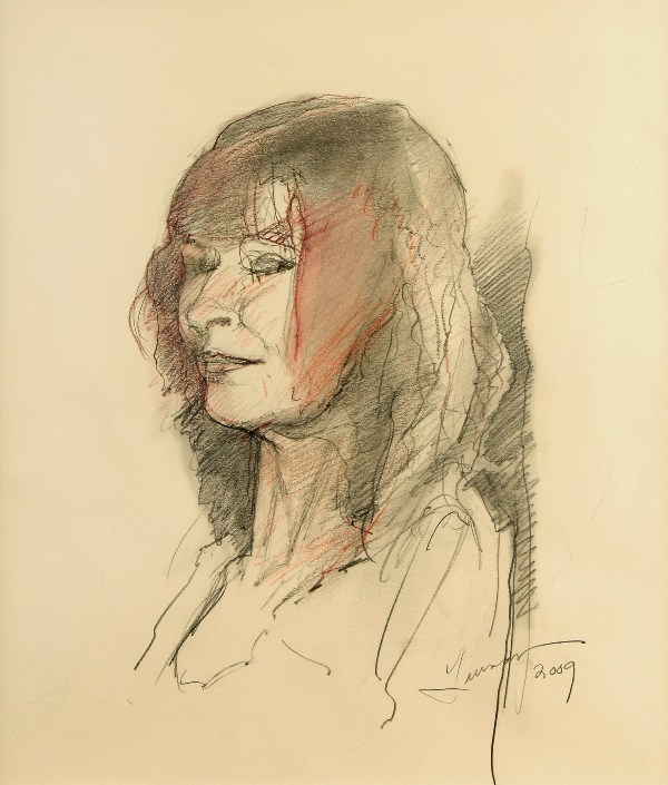Portrait of Rita O'Hara by Robert Guinan